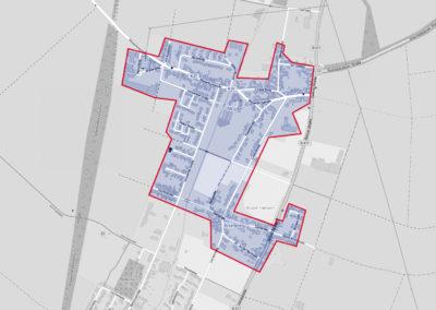 Ausbaugebiete der Deutschen Glasfaser - Anstel / Frixheim