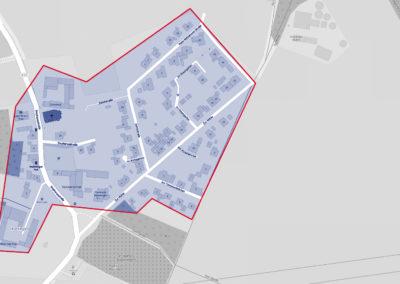 Ausbaugebiete der Deutschen Glasfaser - Hoeningen