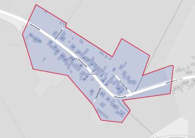 Ausbaugebiete der Deutschen Glasfaser - Ramrath / Villau