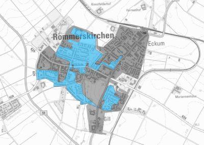 Ausbaugebiete der Deutschen Glasfaser - Rommerskirchen / Eckum / Gill