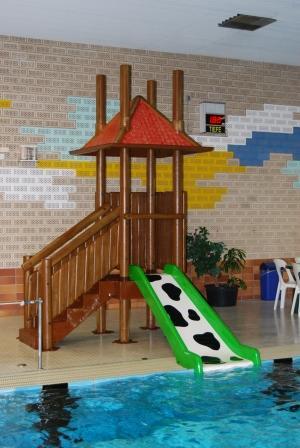 Wasserrutsche für die Kleinen