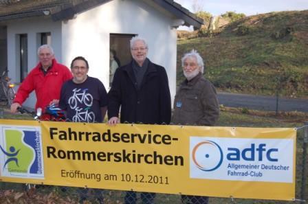 Eröffnung Radservicestation