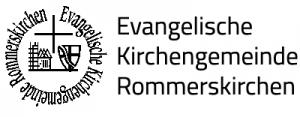 Siegel und Logo der evangelischen Kirchengemeinde Rommerskirchen