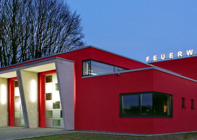Feuerwehrgerätehaus Rommerskirchen - Foto Thelen
