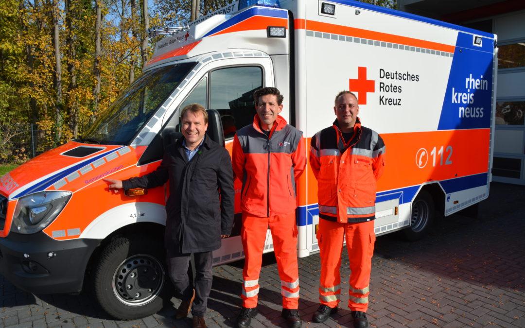 Künftig freier Eintritt für Mitarbeiterinnen und Mitarbeiter der Rettungskräfte im Rommerskirchener Sonnenbad