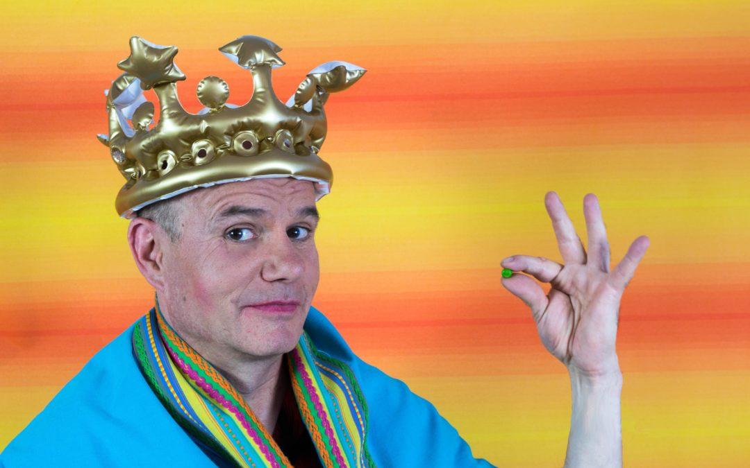 """Kindertheater in Rommerskirchen am 02.04.2019 """"Die Prinzessin auf der Erbse"""", gespielt vom Tom Teuer- Theater"""
