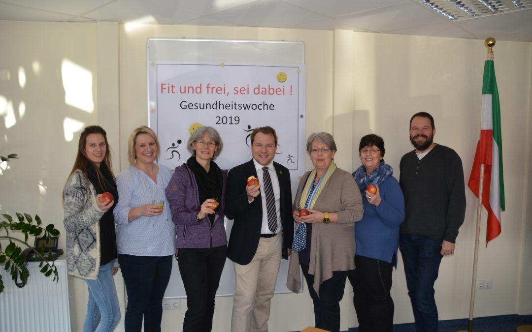 """Gesundheitswoche 2019 """"Fit und frei, sei dabei!"""""""