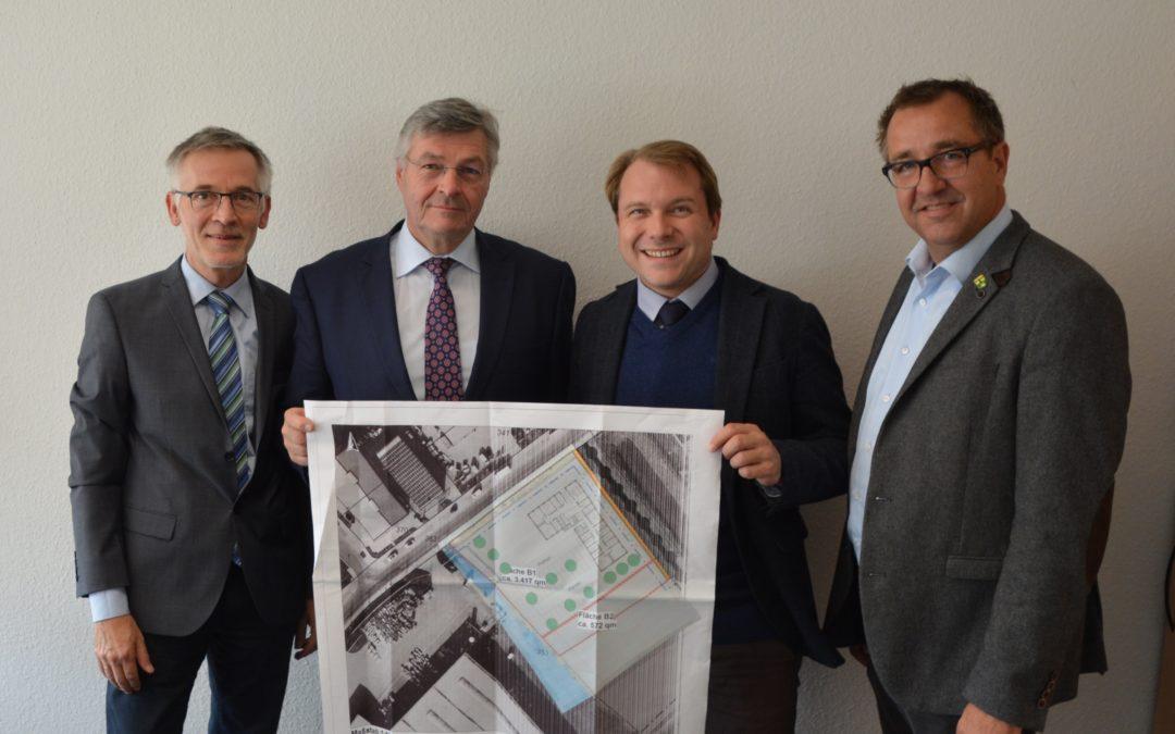 Große Freude: Rheinischer Landwirtschafts-Verband errichtet neuen Schwerpunktstandort in Rommerskirchen