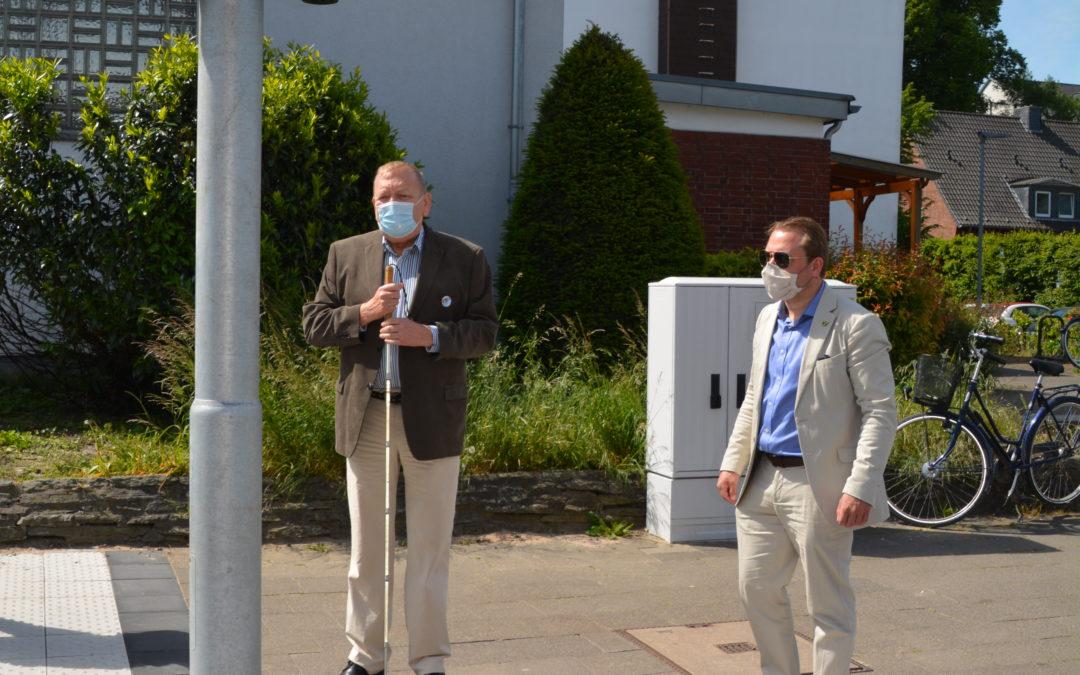 Rommerskirchen wird barrierefrei: Sehbehinderten- und Blindenverein des Rhein-Kreises Neuss zu Gast