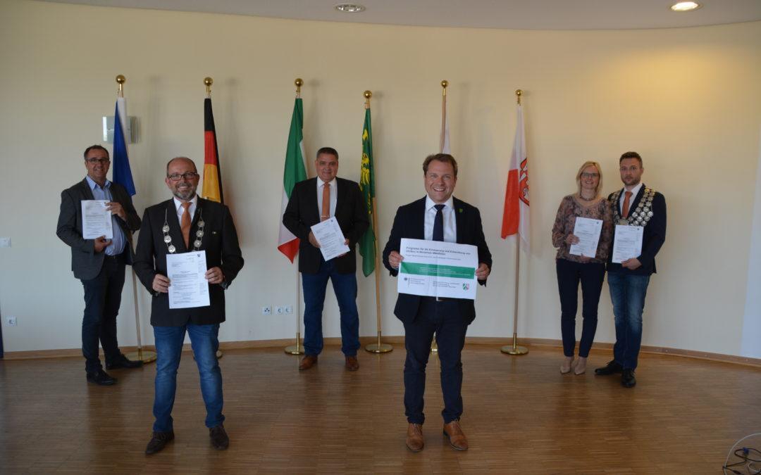 Förderbescheid für neuen Dorf- und Festplatz in Rommerskirchen eingetroffen