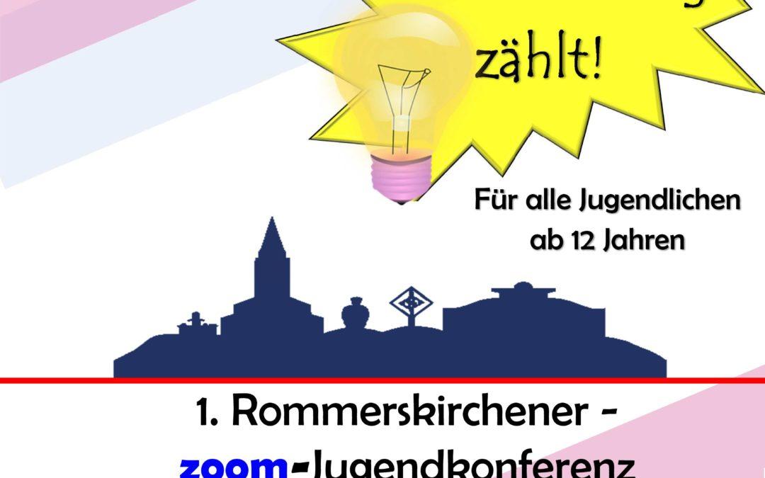 6. Jugendkonferenz via Zoom als Beteiligungsorgan für junge Menschen in Rommerskirchen